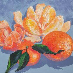 Новогодний фрукт